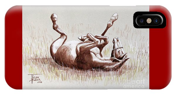 Equine Itch IPhone Case
