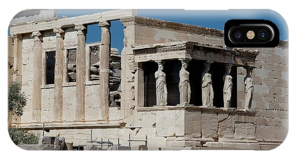 Erechtheion With The Porch Of Maidens IPhone Case