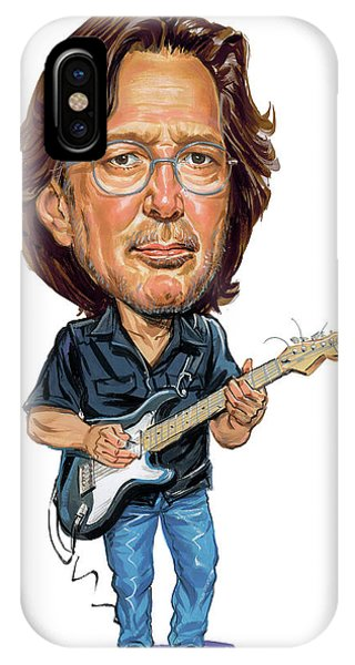 Superior iPhone Case - Eric Clapton by Art