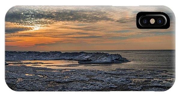 Erie Ice Dunes IPhone Case