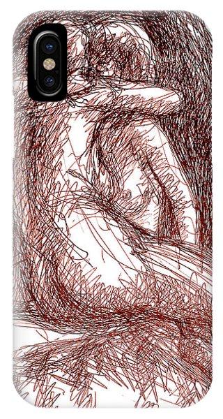 Erotic Drawings 19-2 IPhone Case