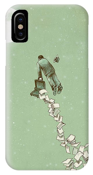 Sky iPhone Case - Escape by Eric Fan