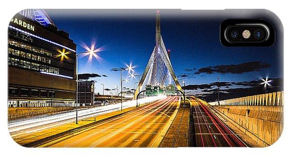 Zakim Bridge iPhone Case - Escape To Boston by Robert Clifford