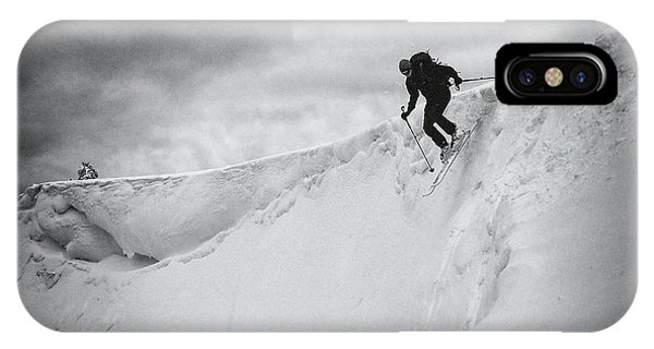 Action iPhone X Case - Escape Xv by Marcel Rebro