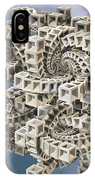 Escher's Construct IPhone Case
