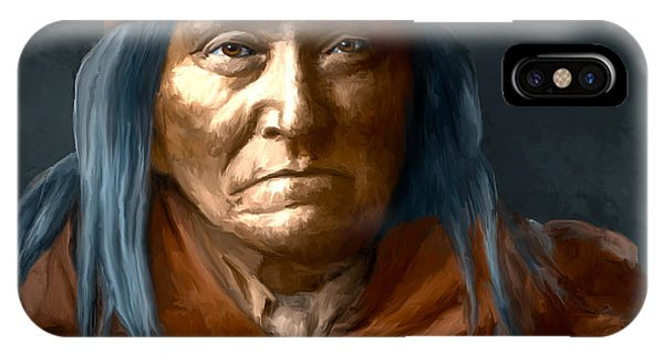 Eskadi - Apache IPhone Case