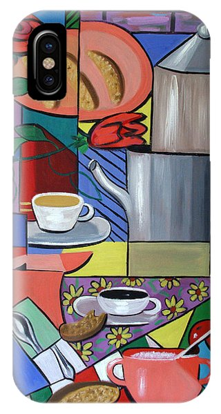 IPhone Case featuring the painting Espresso by Anthony Falbo