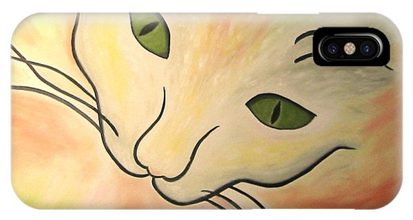 Essence Of Cat IPhone Case