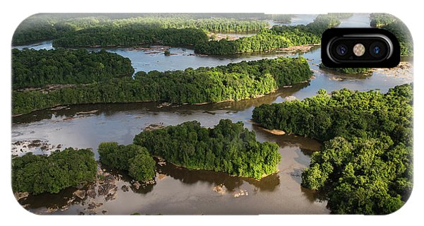 Essequibo River, Guyana Phone Case by Pete Oxford