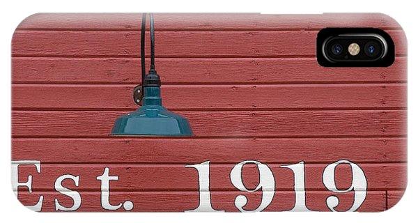 Est 1919 IPhone Case