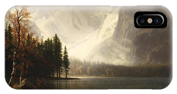 Estes Park Colorado Whytes Lake IPhone Case