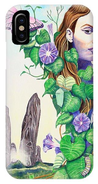 Chrysalis iPhone Case - Etain by Do'an Prajna - Antony Galbraith
