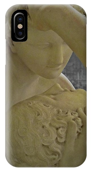 Eternal Love - Psyche Revived By Cupid's Kiss - Louvre - Paris IPhone Case