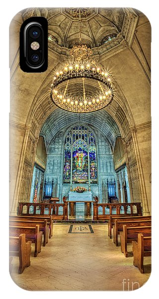 Cemetery iPhone Case - Eternal Search by Evelina Kremsdorf