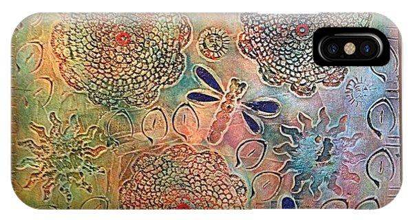 Alfredo Garcia iPhone Case - Eternal Sun By Alfredo Garcia  by Alfredo Garcia