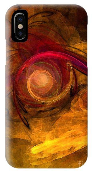 Eternity Of Being-abstract Expressionism IPhone Case