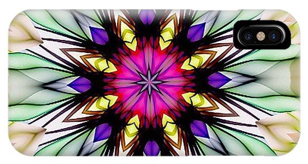 Ethereal Colors Mandala IPhone Case
