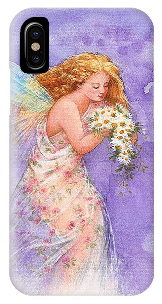 Ethereal Daisy Flower Fairy IPhone Case