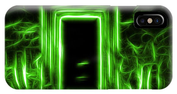 Ethereal Doorways Green IPhone Case
