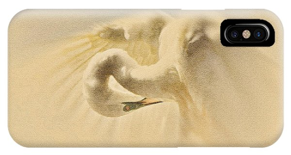 IPhone Case featuring the photograph Ethereal Egret by Ola Allen