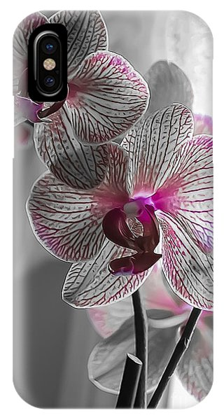 Ethereal Orchid IPhone Case