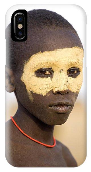 Ethiopia Boy IPhone Case