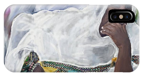 Ethiopian Orthodox Jewish Woman IPhone Case