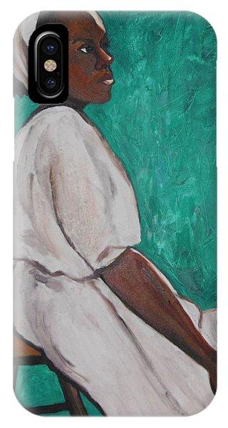 Ethiopian Woman In Green IPhone Case