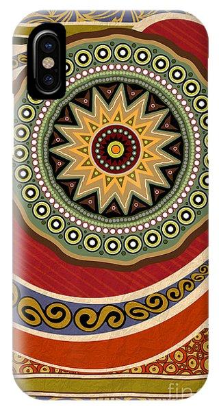 Ethnic Elegance IPhone Case