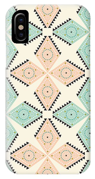 Cute iPhone Case - Ethnic Folk Print by MGL Meiklejohn Graphics Licensing