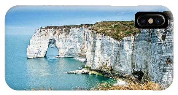 Normandy iPhone Case - Etretat by Delphimages Photo Creations