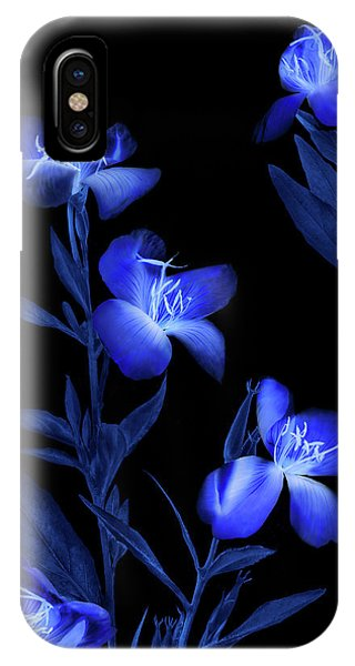 Dark Blue iPhone Case - Etude In Blue by Andrey Shumilin