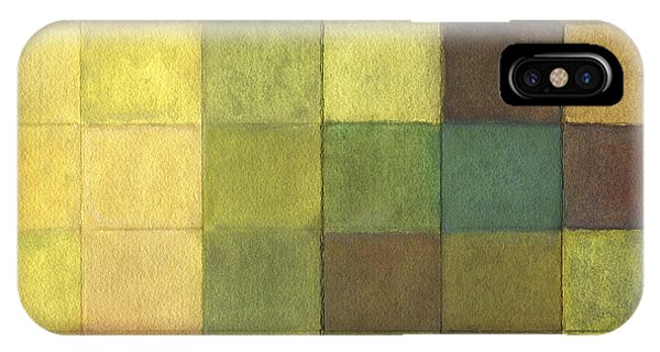 Far North Queensland iPhone Case - Euca - Detail Section 1 Of 3 - Colour Extracts by Kerryn Madsen-Pietsch