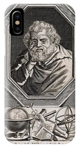 Euclid  Mathematician Of Alexandria Phone Case by Mary Evans Picture Library