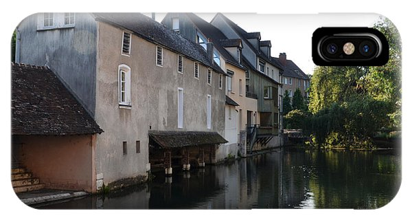 Eure River And Old Fulling Mills In Chartres IPhone Case