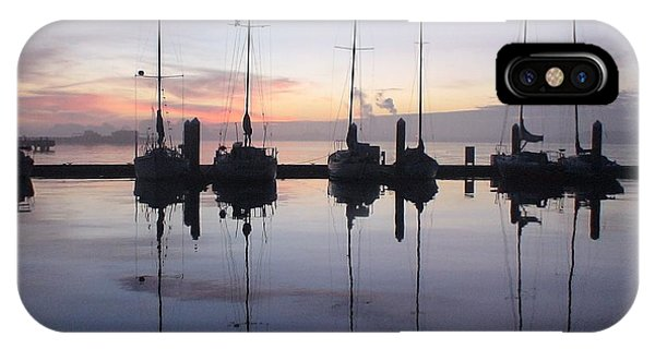 Eureka Harbor At Sunset IPhone Case