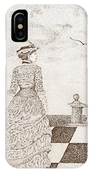 European Lady In The 19 Century IPhone Case