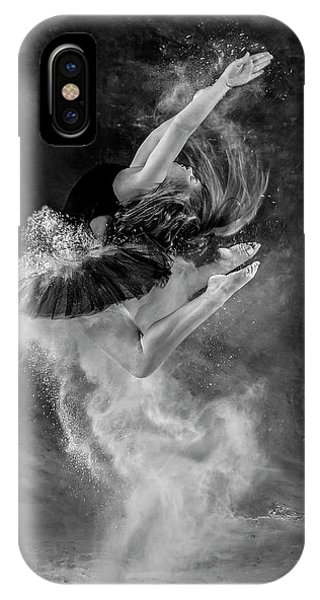 Ballerina iPhone Case - Eurythmic by Pauline Pentony Ma