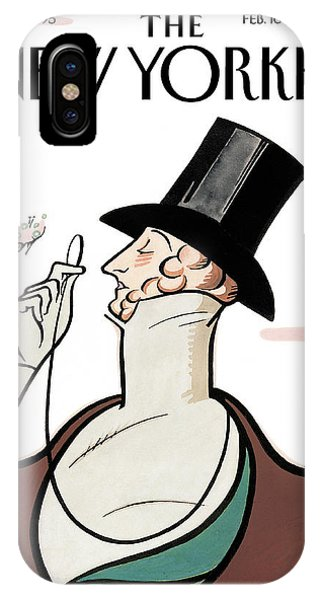 Eustice Tilley IPhone Case