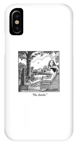 Eve Offers Adam An Apple IPhone Case