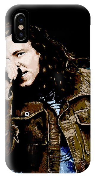 Pearl Jam iPhone Case - Even Flow by Kevin Putman