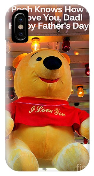 Even Pooh Knows Card IPhone Case