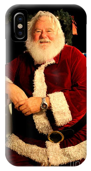 Even Santa Needs A Break IPhone Case