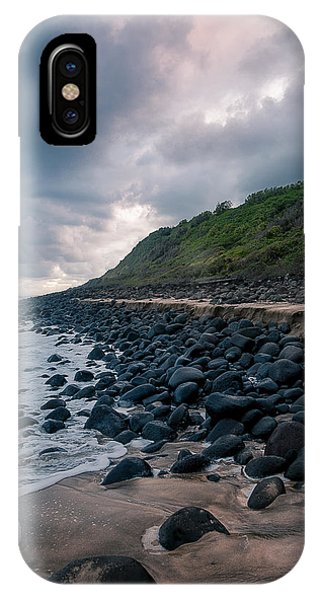 IPhone Case featuring the photograph Evening Arrives At Kalalau 2 by Tim Newton