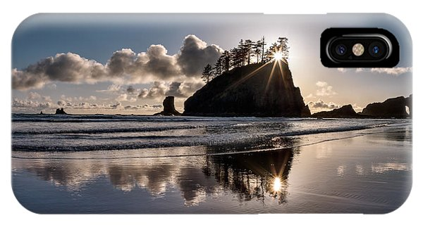 Evening At Second Beach IPhone Case