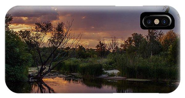 Evening Colors IPhone Case