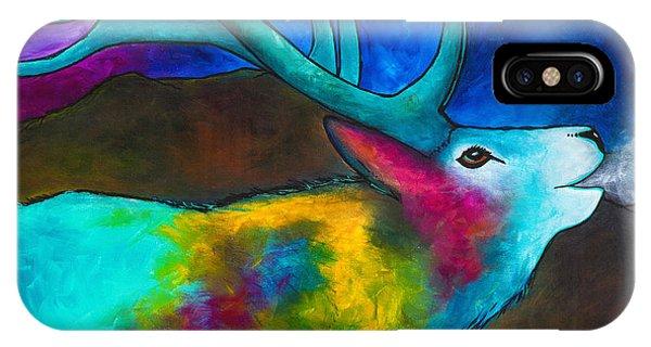 Evening Elk IPhone Case