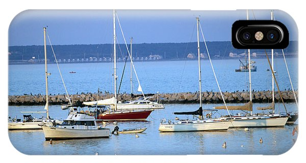 Evening I The Harbor IPhone Case