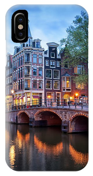 Evening In Amsterdam IPhone Case