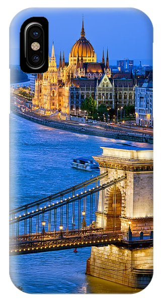 Evening In Budapest IPhone Case